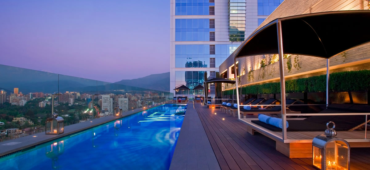 This Stylish And Sophisticated 5 Star Hotel Offers Guests A Rooftop Pool Luxury Rooms The W Santiago Features Centrally Located Enjoys Panoramic